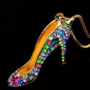 Colorful Shoe Necklace